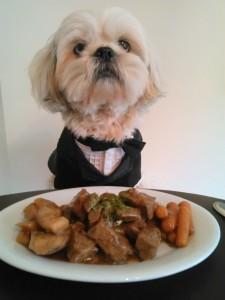 Always dress for dinner