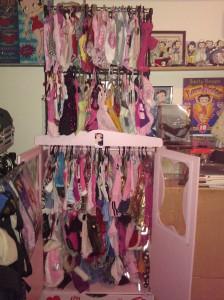 BB's wardrobe