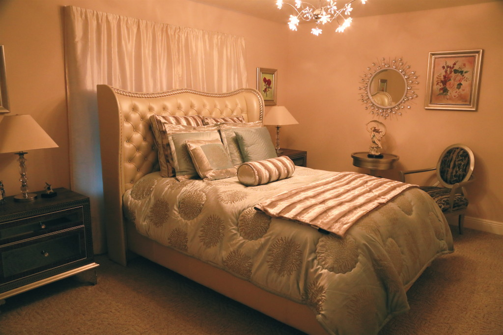 Sophia's perfectly designed bedroom