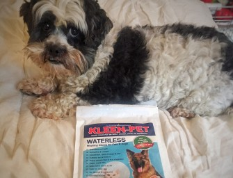 Keeping pups clean with Kleen-Pet