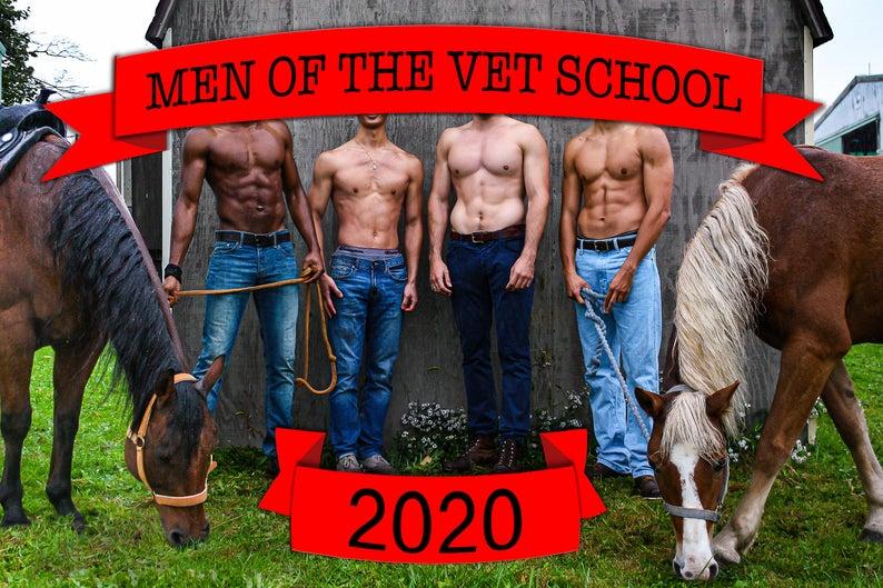 Men of The Vet School Calendar 2020